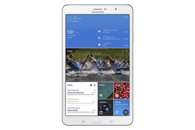 Das Galaxy TabPRO 8.4 zählt derzeit zu den Geräten mit der höchsten Pixeldichte.