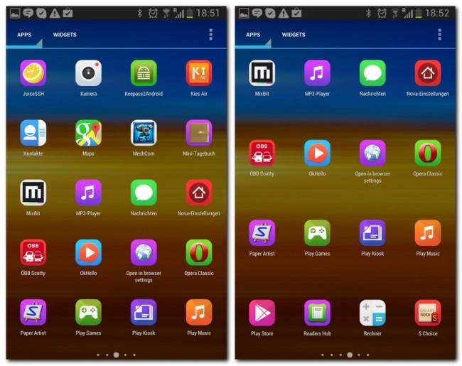 Der Icon Generator versieht auch die Icons von eher unbekannten Apps mit dem passenden Look.