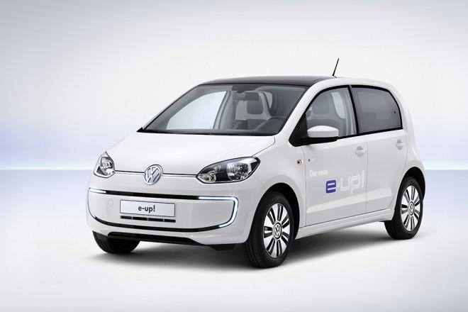 Der Hauptpreis: ein e-up! von VW (Foto VW)