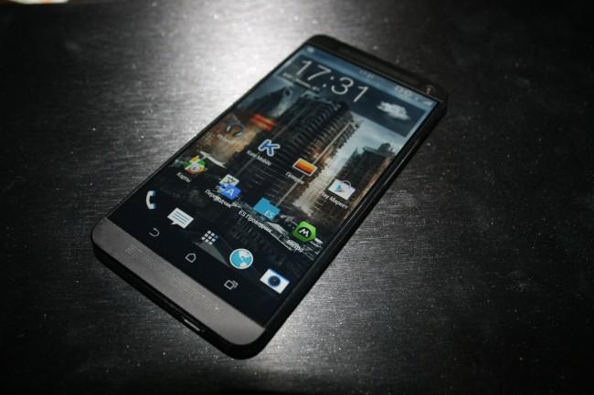 """Vielleicht bekommt das sehr elegante HTC One bald eine Smartwatch als """"Companion"""" zur Seite gestellt."""