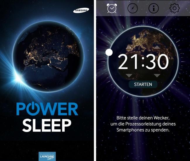 Die App Power Sleep stellt die Rechenleistung deines Smartphones der Alzheimer- und Krebs-Forschung zur Verfügung.