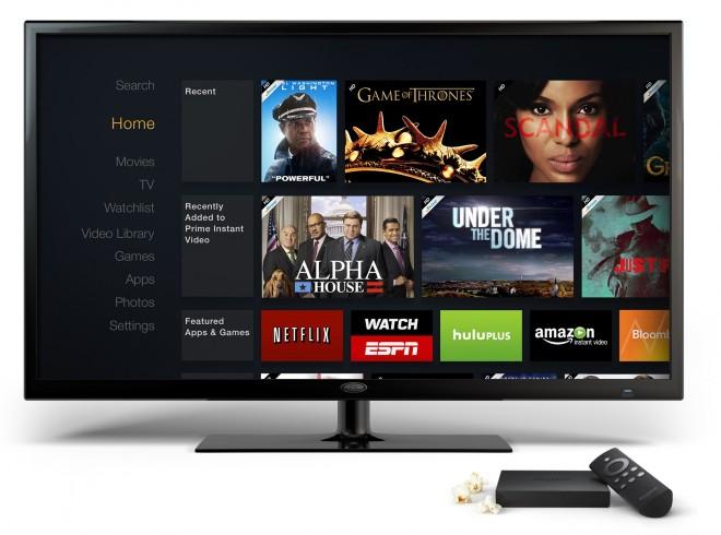 Die Software von Amazon Fire TV basiert auf dem FireOS 3.0 Mojito und wirkt aufgeräumt.