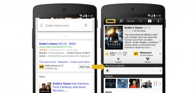 Du kannst Ergebnisse der Google-Suche bald auch in zahleichen Apps öffnen (Foto: Google Webmaster Blog)