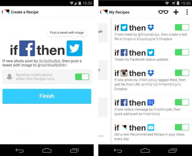 Dank des Dienstes IFTTT laufen Routineaufgaben in deinen sozialen Netzen und auf deinem Smartphone automatisch ab. Du kannst entweder eigene Automatisierungsrezepte anlegen oder aber die Rezepte anderer Anwender benützen.