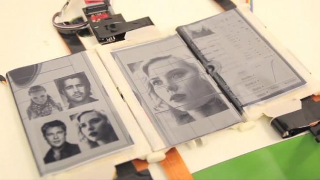 Innovatives Konzept: Die Möglichkeiten mit des Paperfold sind schier unendlich. (Bild: Queen's University Human Media Lab)