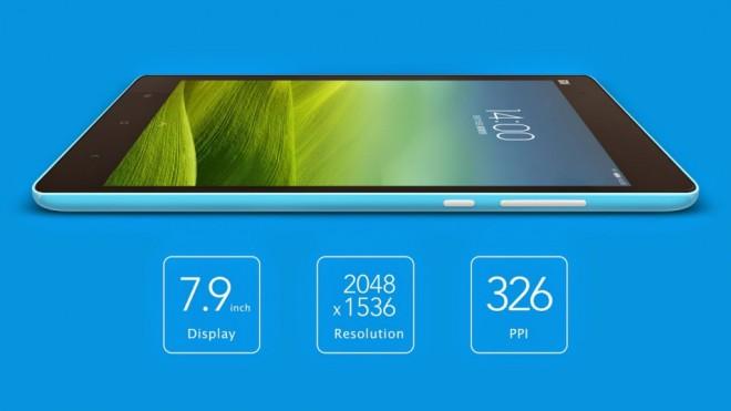 Das Xiaomi Mi Pad: Ein direkter Herausforderer für das iPad Mini mit Retina-Display – aber deutlich günstiger und mit besserem Prozessor.
