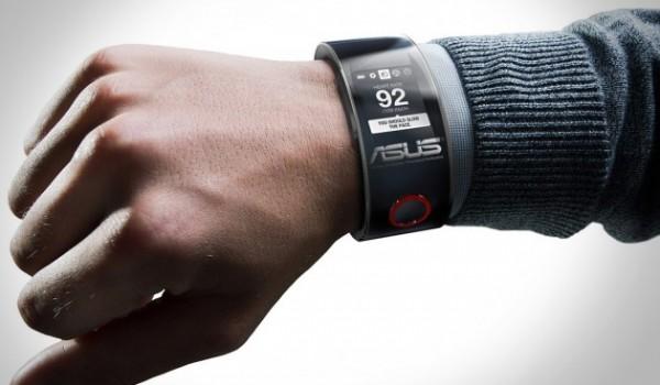 Ganz so futuristisch wird die ASUS-Smartwatch am Ende wohl leider nicht aussehen.