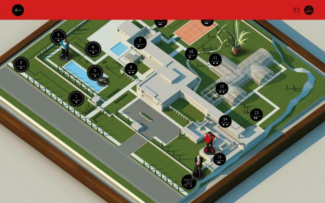 Die einzelnen Level finden in insgesamt fünf verschiedenen Umgebungen statt.