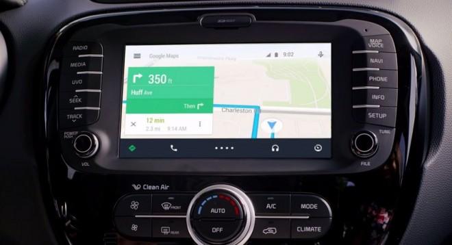 So wird die Navigation in Android Auto aussehen. (Bild: Google)