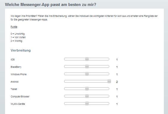 Welche Verbreitung muss dein Messenger haben? (Screenshot Android Magazin)