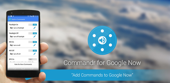 commandrs for google now
