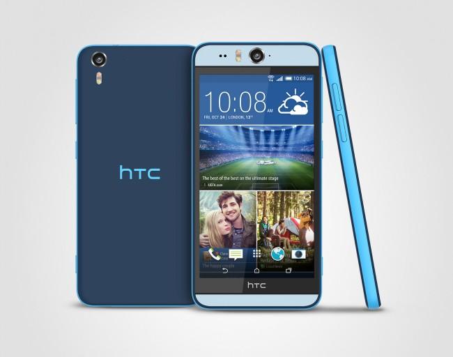 Vor allem die große Linse an der Vorderseite des Smartphones sticht ins Auge. (Foto: HTC)