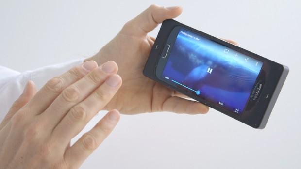 Die Technik könnte für künftige Smartphones wegweisend sein. (Foto: Golem.de)