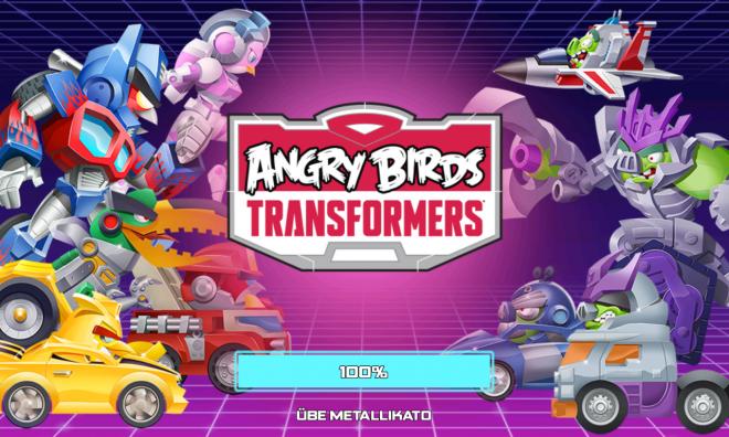 Angry Birds Transformers - Titelbild