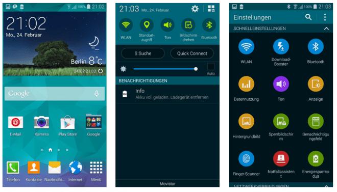 Ein Markenzeichen Samsung: TouchWiz. Doch die Benutzeroberfläche ist oftmals auch Ziel beißenden Spotts. (Bild: AndroidMag)