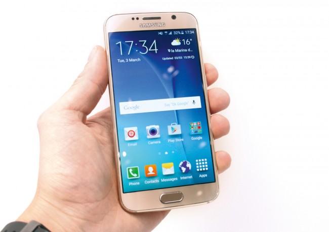Bekommt offenbar bald einen kleinen Bruder: Das Samsung Galaxy S6.