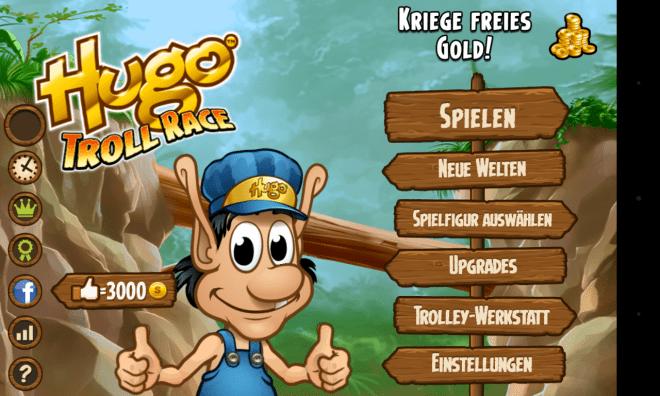 Hugo Troll Race - Material für Titelbild 2