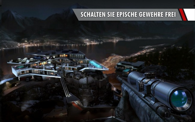 Im Laufe der Zeit kannst du die Scharfschützengewehre verbessern, die dem Killer zur Verfügung stehen. (Bildschirmfoto: Square Enix)