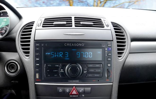 "Creasono 2-DIN-MP3-Autoradio ""CAS-3320DD"" USB / SD / Bluetooth / RDS"