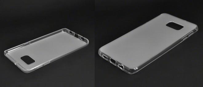 Dieses Cover lässt die Form und das Design vom Galaxy S6 Edge Plus erahnen.