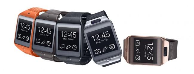 """Die Krankenkasse AOK Nordost gibt ihren Mitgliedern einen Zuschuss für die Anschaffung von digitalen Fitness-Geräten – darunter auch Smartwatches (im Bild das Modell """"Gear 2"""" von Samsung). (Foto: Samsung)"""