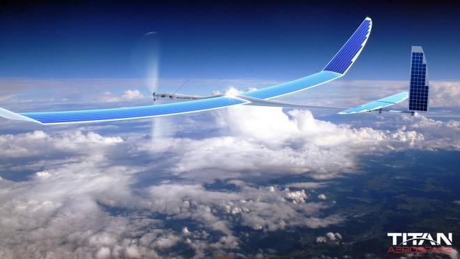 Drohnen und Satelliten Mit riesigen solarbetriebenen Drohnen und Satelliten im Weltall soll in abgelegenen Regionen auf der ganzen Welt ein Internetzugang über internet.org ermöglicht werden, um so alle Menschen auf dem Planeten zu vernetzen.