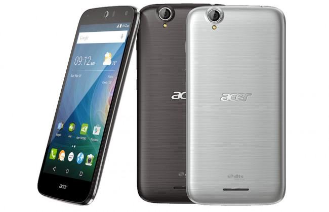 Das neue Acer-Smartphone Liquid Z630 hat eine Bildschirmdiagonale von 5,5 Zoll  – und soll mit einer Akkuladung bis zu drei Tage lang durchhalten. (Foto: Acer)