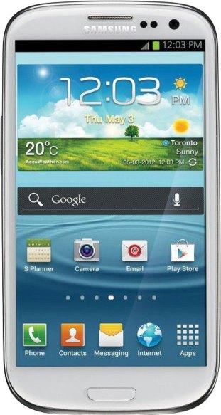 Das 2012 vorgestellte  Samsung Galaxy S3 bekommt das Update auf  Android 4.1 relativ bald.