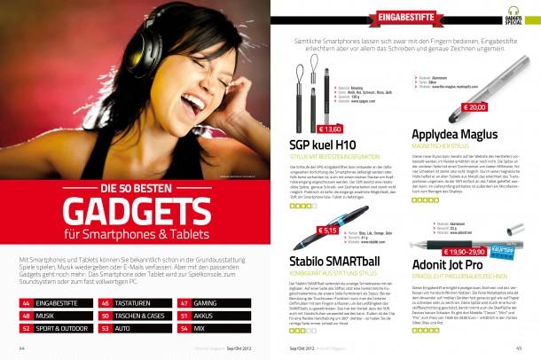 Android Magazin 8 - Die 50 besten Gadgets (2 von 14 Seiten)