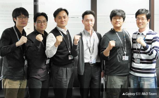 Das Entwicklerteam konnte das Design des Samsung Galaxy S3 bis zur Veröffentlichung geheimhalten.  Foto: samsungtomorrow.com.