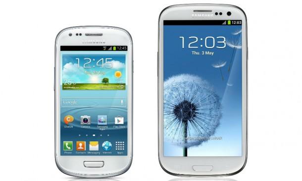 Nomen est omen: Das Galaxy S III mini hat vom Äußeren her große Ähnlichkeit mit dem beliebten Smartphone Galaxy S III.