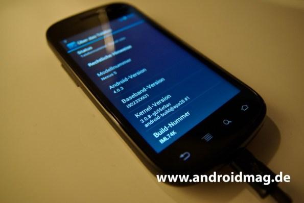 Nexus S Android 4.0
