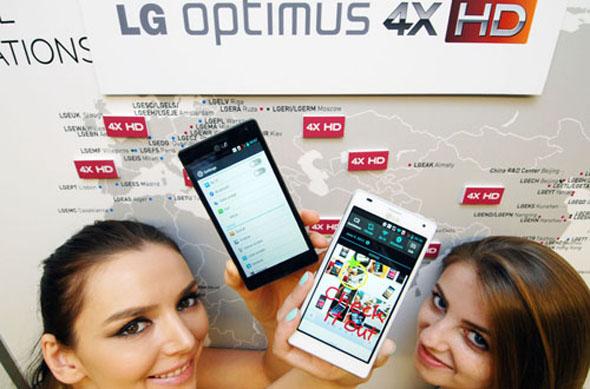 Das LG Optimus 4x HD soll bald auch in Deutschland erhältlich sein. Foto: LG.