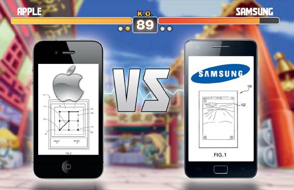 Apple vs Samsung Patentstreit