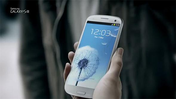 Die Wallpaper und Töne des Samsung Galaxy S3. Foto: Samsung.