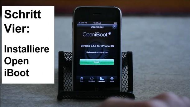 Schritt 4: Installiere OpeniBoot.