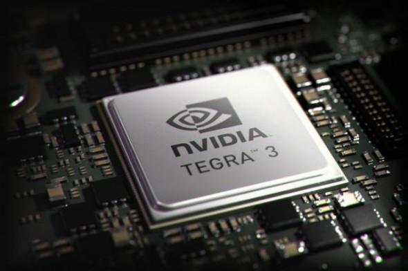 Nvidia Tegra 3 - aktueller Prozessorchip von Nvidia. Foto: Nvidia.