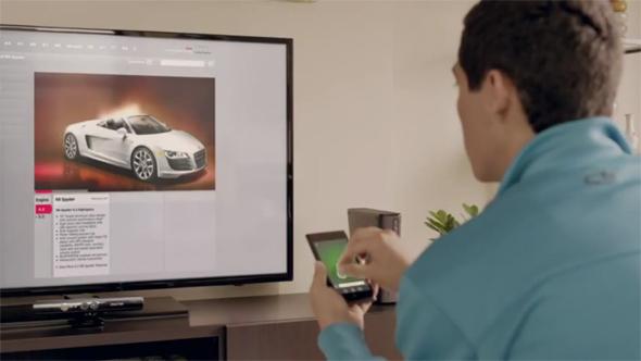 Die Xbox 360 ist künftig mit Android-Apps steuerbar. Foto: youtube.com.