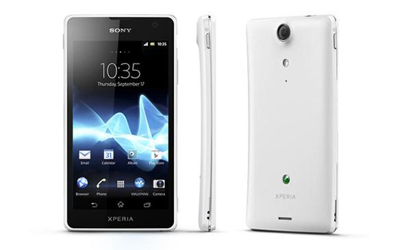 Sony Xperia GX in Weiß. Foto: Sony.