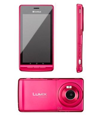 Das Lumix Phone 101P ist in Japan bereits in den Farben Magenta, Schwarz und Gold erhältlich. Kommt das Kamera-Phone nun auch bei uns auf den Markt? (Foto: www.panasonic.jp)