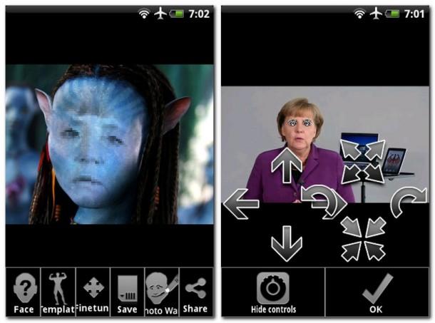 """Das Einfügen von Gesichtern in Fotos ist mit der App """"Face Off"""" ein Kinderspiel."""