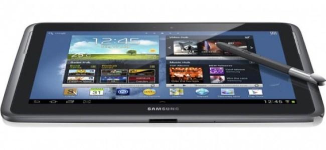 Das Galaxy Note 10.1 - arbeitet Samsung an einem Tablet mit noch größerem Display und einer deutlich höheren Auflösung?