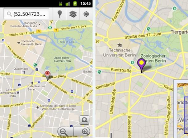 Google Maps - insbesondere im Auto ist das App eine große Hilfe