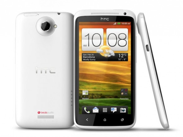 Das HTC One X.