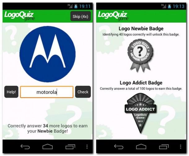 Beim Logo Quiz Game müssen Sie Logos von Organisationen, Unternehmen und Produkten erkennen.
