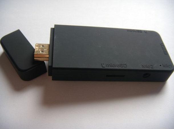 Der Android Mini PC von Oval Elephant ermöglicht das Ausführen von Android auf TV-Geräten. Foto: Ovalelephant.com.