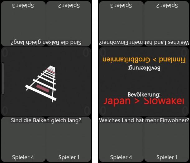 Die ideal App für zwei bis vier Spieler!
