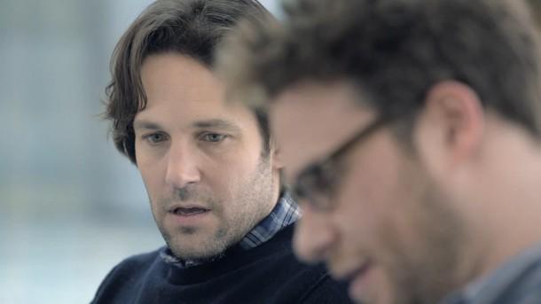 Paul Rudd und Seth Rogen sind die Hauptdarsteller im Superbowl-Spot von Samsung.