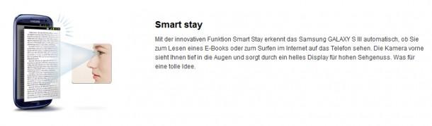 Die Smart Stay-Technologie ist bei den S3-Nutzern sehr gut angekommen.