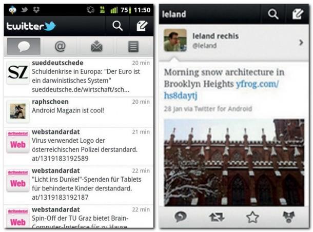 Mit der Twitter App sind Sie immer auf dem neuesten Stand. Die offizielle Twitter-App überzeugt durch eine übersichtliche Oberfläche.